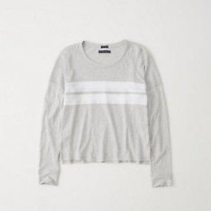 Abercrombie & Fitch Long Sleeve Rugby Stripe Shirt